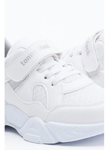 Tonny Black Beyaz Çocuk Spor Ayakkabı Tb0019 Beyaz